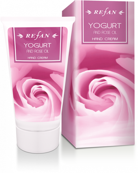 Crema mani Yogurt & Olio di Rosa - 75 ml