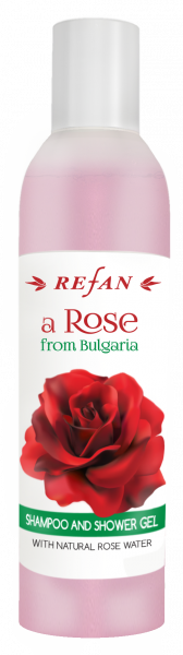 Shampoo corpo e capelli A Rose from Bulgaria - 250 ml