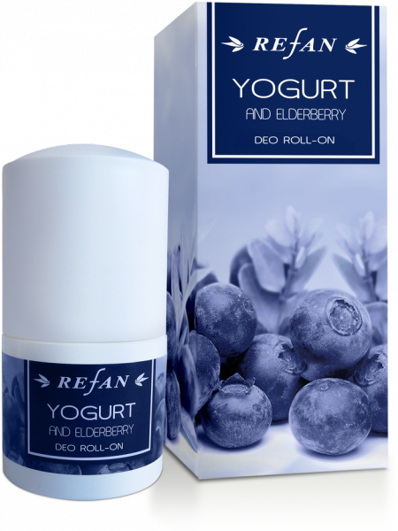 Deodorante roll-on Yogurt & Sambuco - 50 ml