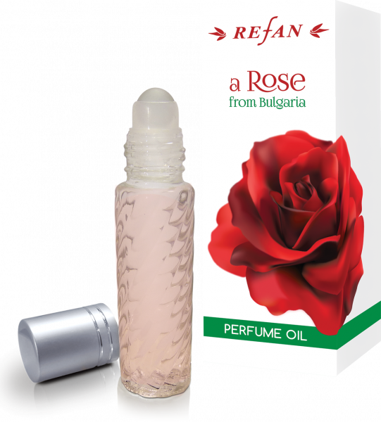 Olio profumato senz'alcool roll-on A Rose from Bulgaria - 10 ml