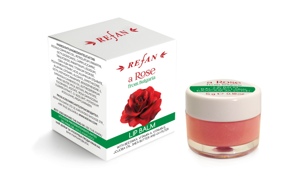 Balsamo labbra A Rose from Bulgaria - 5 gr