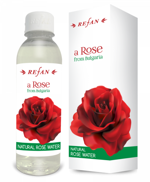 Acqua naturale di Rosa Bulgara - 250 ml